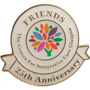 25th anniversary badge for friends of cic